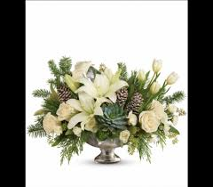 winter park florist teleflora s winter wilds centerpiece in detroit and st clair