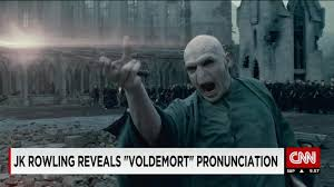 j k rowling how you really pronounce u0027voldemort u0027 cnn