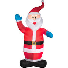 7 ft tall small santa clause inflatable christmas electric lighted