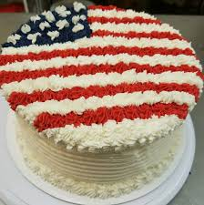 Flag Cakes Kaser New York Gourmet Bakery Party Event Catering Cookies Cakes