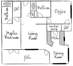 Floor Plan Apartment Design Small Apartment Floor Plan Home Pinterest Apartment Floor