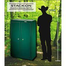 stack on 18 gun convertible gun cabinet gun cabinets cowboy safes