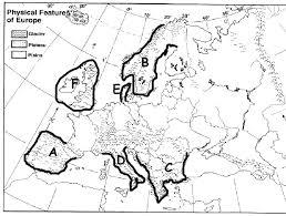 europe peninsulas map european islands and peninsulas