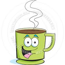 cartoon cup of coffee by kenbenner toon vectors eps 18698