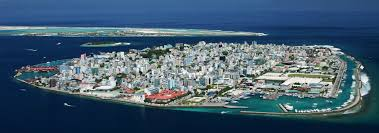 Birds Eye View Map Google Map Of Malé Maldives Nations Online Project