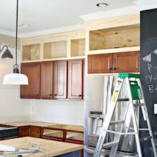 space above kitchen cabinets thrifty decor chick kitchen makeover fixing that annoying space