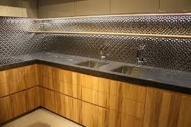 all things led kitchen backsplash led backsplash lighting concrete counter top with glass back splash