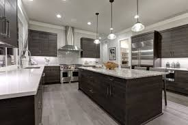 grey kitchen cabinets with white countertop 55 gorgeous kitchens with stainless steel appliances photos