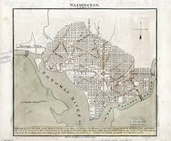 Map Of Washington by Large Detailed Old Map Of Washington 1815 Washington D C