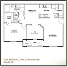 One Bedroom And A Den 1 Bedroom And Den Means Nrtradiant Com