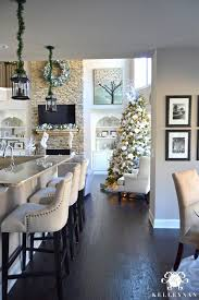 christmas decor in the home 2015 christmas home tour kelley nan
