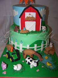 barn cake topper birthday cake ideas farm animals image inspiration of cake and
