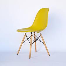 Esszimmerstuhl Ahorn Vitra Eames Plastic Side Chair Dsw Senf Gelb Ahorn