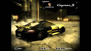 porsche cayman s performance need for speed most wanted porsche cayman s tuning hd