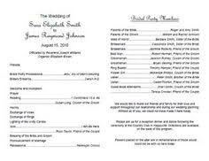 wedding programs sles wedding programs exles on wedding programs sle front wedding