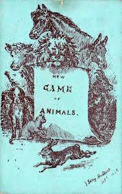 the new game of animals the world of playing cards