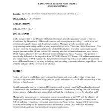 director human resources resume best photos of human resources assistant job description hr cover