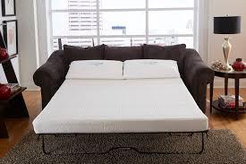 sleeper sofa with memory foam mattress collection in sleeper sofa memory foam mattress natures sleep gel