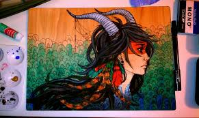 wood painting wood painting by jackiethepirate on deviantart
