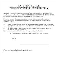 sle eviction notice maine late rent notice template notice of late rent late rent notice free