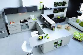 ilot cuisine avec table coulissante plan cuisine avec ilot central ilot central rglable en hauteur