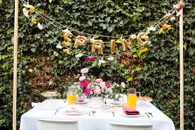celebrate spring with a floral spring brunch brit co