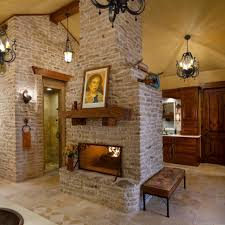 a fireplace in a bathroom what luxury this spa like ranch style