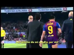 alexis sanchez youtube pep guardiola yells at alexis sanchez for his new injury angry