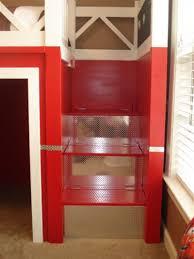 diy fire truck bunk bed