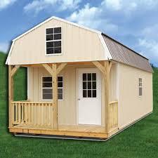 Z Barn Simpco Portable Buildings Z Metal Derksen Lofted Barn Cabin