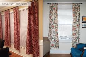 Height Of Curtains Inspiration Awesome Inspiration Ideas Curtain Height The Anatomy Of Design