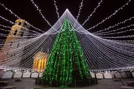 unique tree illuminated by 50 000 lightbulbs opens