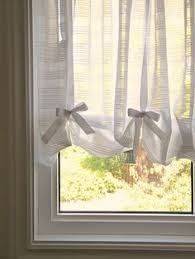 Curtains With Ribbon Ties Swoon Style And Home Diy Tutorial Make Your Own No Sew Drape