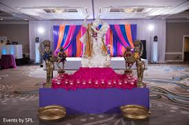 indian wedding decorators in atlanta ga sangeet decor in atlanta ga indian fusion wedding by events by