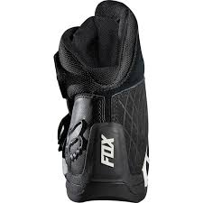 low motorcycle boots fox racing new bomber ce ankle road racing short low cut black