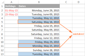 format date in excel 2007 excel workday and networkdays functions to calculate working days