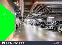 parking garage underground interior shopping mall at night stock parking garage underground interior shopping mall at night