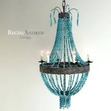 turquoise beaded chandelier turquoise beaded chandelier turquoise chip beaded empire