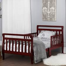 Toddler Sleigh Bed Cherry Toddler Beds You U0027ll Love Wayfair