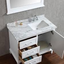 Bathroom Vanities 42 Ariel By Seacliff Nantucket 42 Single Sink Bathroom Vanity Set In