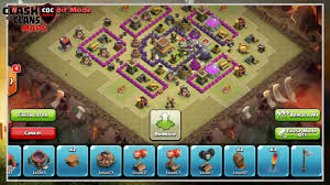 Coc Maps Clash Of Clans Th7 Anti Hog Rider War Base Layout Defense