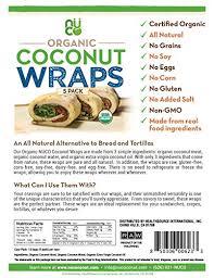 where to buy paleo wraps nuco certified organic paleo gluten free vegan