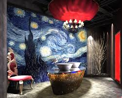 Bathroom Mural Ideas by How To Determine The Ideal Position Of Wall Murals In Bathroom