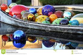 glass spheres in a boat stock image image of sphere 41594127