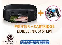 edible printing system canon mg5620 edible printing system printedible