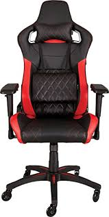 bureau corsair corsair t1 race gaming chair metal black amazon co uk