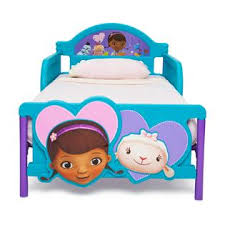 Doc Mcstuffins Toddler Bed With Canopy Delta Children Doc Mcstuffins 3d Toddler Bed Baby Toddler