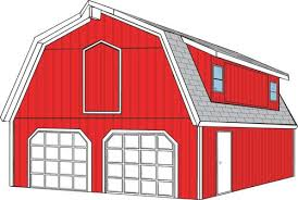 Gambrel Roof Garages by A Gambrel Roof Has A Shallow Slope Over A Steep Slope And Is
