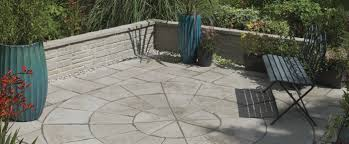 concrete paving slab engineered stone for public spaces