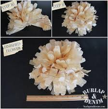 pattern making tissue paper tissue paper flowers from sewing patternsburlap denim